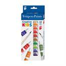 Tempera ICO Creative Kids 12ml színes 12db-os